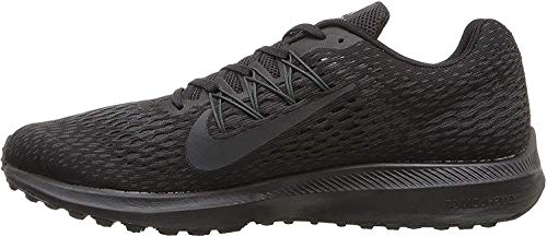 Nike Zoom Winflo 5 Mens Running Trainers AA7406 Sneakers Shoes (UK 9 US 10 EU 44, Black Anthracite 002)