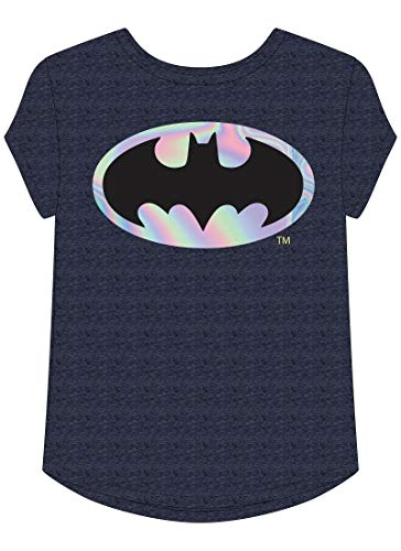 Jumping Beans Toddler Girls 2T-5T DC Comics Batman Graphic Tee 3T Peacoat Navy