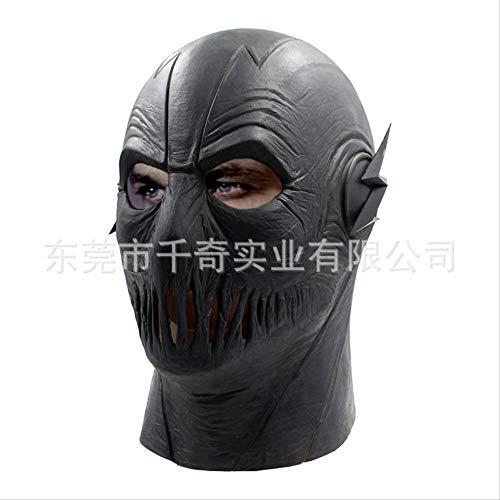 ZhuYiCheng Máscara de Flash Negra de Halloween, Mascarada