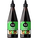 9. Best of Thailand Stir Fry Sauce Rich Flavor   Authentic Asian-Brewed Marinade, Glaze, Salad Dressing & Dip for Meat & Vegetable Stir Fry   No MSG   Kosher Parve   2 Pack of 23.65oz Squeezable Bottles