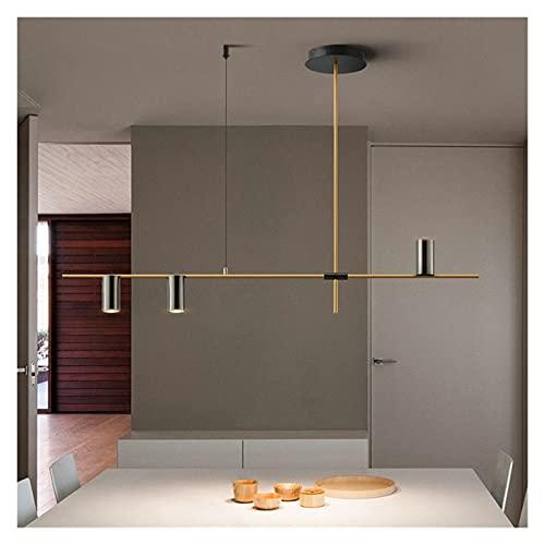 Lámpara De Techo Lámpara colgante de oro negro moderno Lámpara de araña para dormitorio Salón de entrada Loft Cocina comedor decoración nórdica casa decoración chandelier