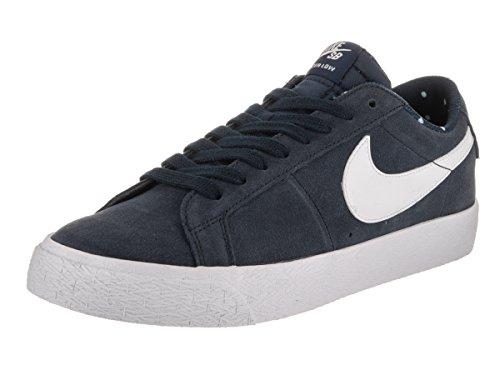 Nike Uomo Blazer Zoom Basso ossidiana / Bianco / Gum Scarpe marrone chiaro Skate 9.5 Uomo US