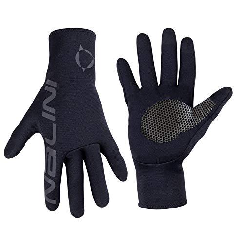Nalini - Guanti Invernali Made in Italy Modello AIW-exag. Winter Glove Colore Nero 4000, Taglia L