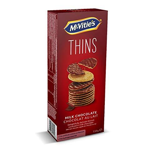 Mcvitie's Biscotti Ricopertti di Cioccolato, 150g
