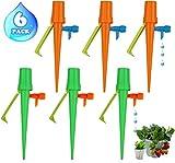 6 pezzi irrigazione a goccia, giardino automatico gocciolante gocciolatore diy piante, adatto a fiori, bonsai, dispositivo irrigatore domestica, automatica e scientifica per piante da interni esterni