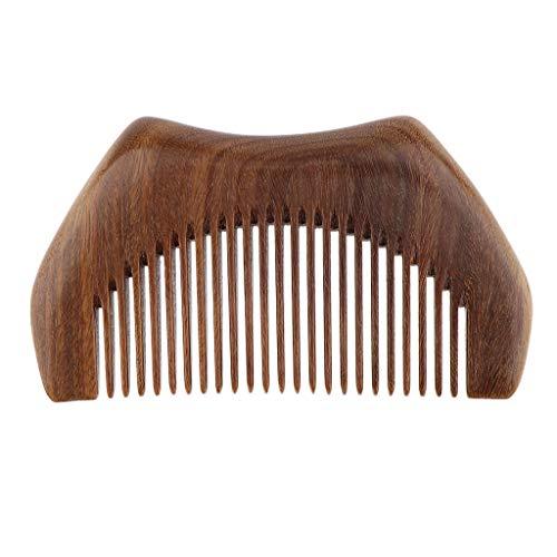 Sharplace Peigne en Bois de Santal Naturel de Massage Brousse à Cheveux Vintage