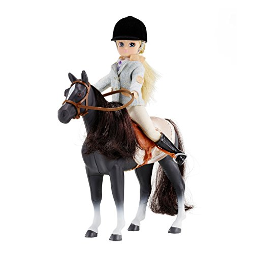 Amazon.es: Lottie Set de Pony y Muñeca Pony Club LT054: Juguetes y ...