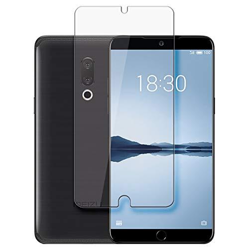 disGuard Protecteur d'écran [Crystal-Clear] Compatible avec Meizu 15 Plus [2 Pièces] Limpide, Transparent, Invisible, Extrêmement résistant, Anti-Empreinte Digitale - Film Protecteur