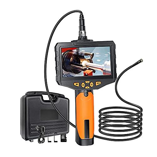 Kilcvt Endoscopio Industrial, Cámara De Inspección Industrial HD 1080P con 6 Luces Led/Pantalla IPS De 4.5 Pulgadas/Cámara De Serpiente Impermeable Ip67 (Tarjeta TF De 32 GB),Line Length,3m