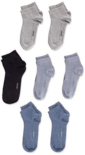Camano Jungen 9302 Socken, Blau (Jeans Mix 0024), 31-34