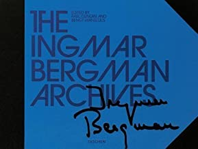 The Ingmar Bergman Archives Har/DVD/Fl Edition published by Taschen GmbH (2008)