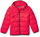 Under Armour boys Pronto Puffer Jacket, Versa Red F202, YMD US