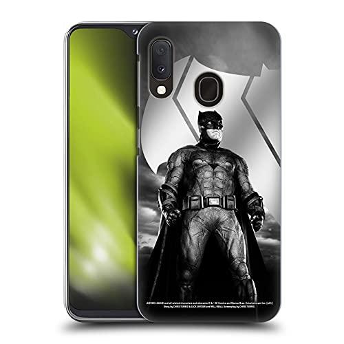 Head Case Designs sous Licence Officielle Zack Snyder's Justice League Batman Snyder Cut Art Personnage Coque Dure pour l'arrière Compatible avec Samsung Galaxy A20e (2019)