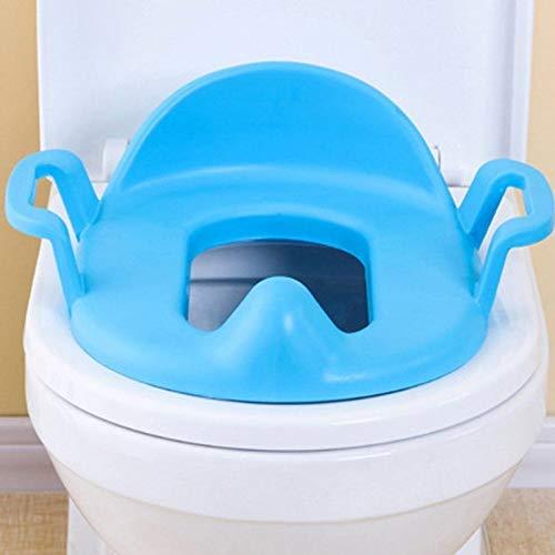 Toilet Stoelhoezen - Handige Kids Baby Toilet Stoel Bedpan Cover Peuter Potty Urinal Training Pad Kussen - Brighton Zwarte Bulk Langwerpige Plastic Grijs Hoezen Camping Commerciële Islamitische M