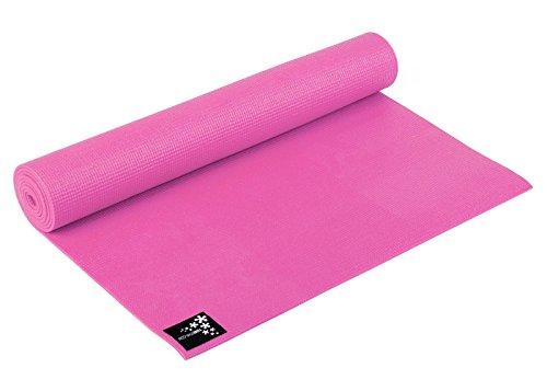 Yogistar Basic–Esterilla de Yoga, Rosa, 183x 61x 0.4cm, 111750