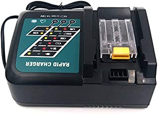 Replacement Battery Charger for Makita 14-18V Lithium Battery BL1430 BL1830 with US Standard Plug