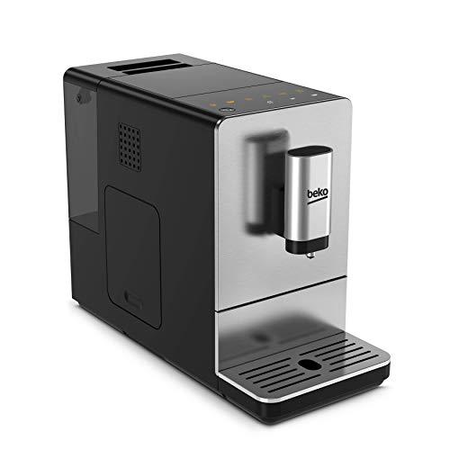 Beko CEG5301X - Cafetera (Independiente, Máquina espresso, 1,5 L, Molinillo integrado, 1350 W, Negro, Acero inoxidable)