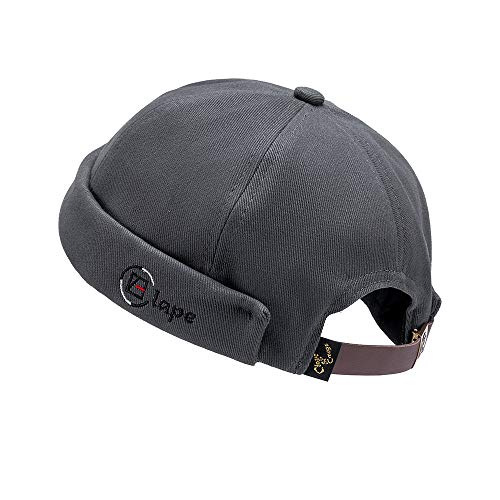 Clape Docker Mütze Cap Herren Seemannsmütze Hafenmütze Herrenmütze Bikercap Hat Wandermütze Dockercap Kopfbedeckung Seemannskappe