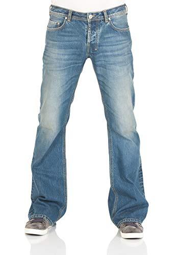 LTB Herren Jeans Tinman - Bootcut - Giotto Wash, Größe:W 38 L 34