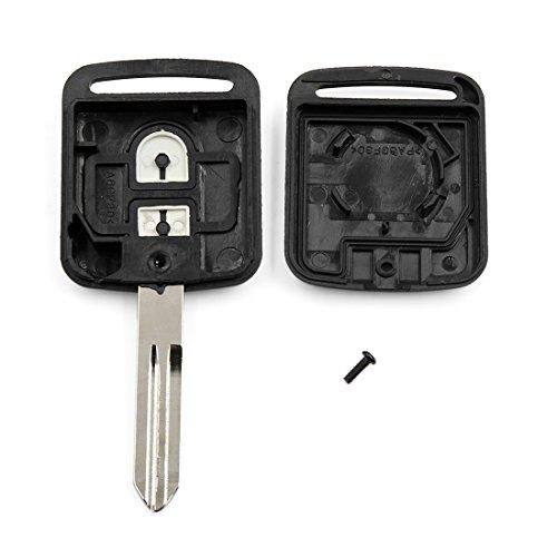 sourcingmap Nouveau 2 boutons frais non coupés Shell Shell télécommande Clicker Fob Case remplacement