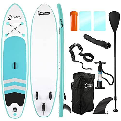 SUP Stand Up Paddle Board Gonfiabile Tavole da Paddle con Accessori Premium all Around Barca in Piedi per Tutti i Regali di Compleanno di abilità