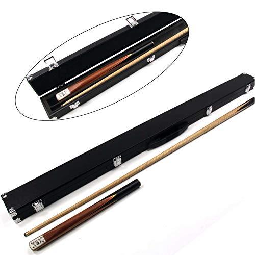 Funky Chalk Snooker Cue & Hard Case-Assorted Colours, Stecca da Biliardo Phoenix Four Splice 3/4 con Custodia Rigida, Colori Assortiti Unisex-Adulto