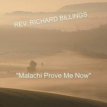 Malachi Prove Me Now (Live)