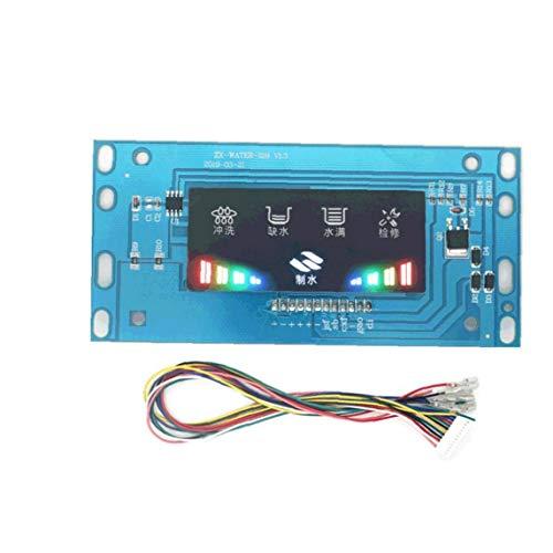 Purificador de agua Ordenador de a bordo general de piezas TDS Panel de control inteligente de la tarjeta de control de detección del valor de Osmosis Inversa RO Máquina