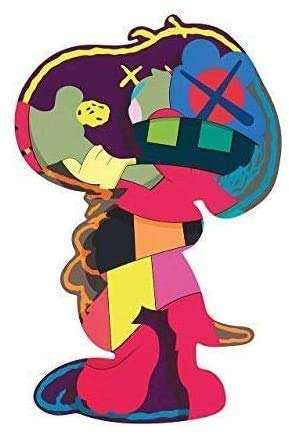 Dynamic Claps Rare Poster KAWS Isolation Tower 30,5 x 45,7 cm Poster gerollt
