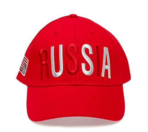 Anti Trump Hat Russia Upside Down USA Flag Cap Anti Make America Great Again Cap Red