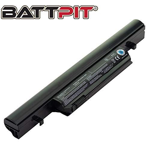 BattPit Laptop Battery for Toshiba PA3904U-1BAS PA3904U-1BRS PA3905U-1BAS PA3905U-1BRS PABAS245 PABAS246 Tecra R850 R950 Satellite R580 Satellite Pro R850 - High Performance [6-Cell/4400mAh/48Wh]