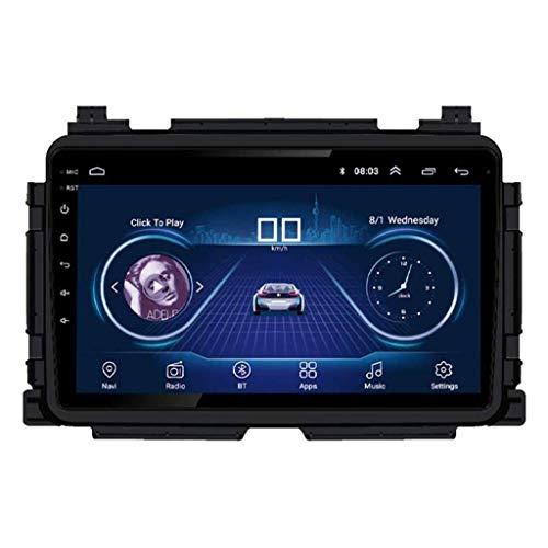 Android 8.1 - Radio GPS para coche, pantalla táctil de 9 pulgadas, para Honda Vezel/XRV 2014 – 2018, con control en el volante, Bluetooth, Mirror Link estéreo, SD FM AM, WiFi: 1 + 16 G