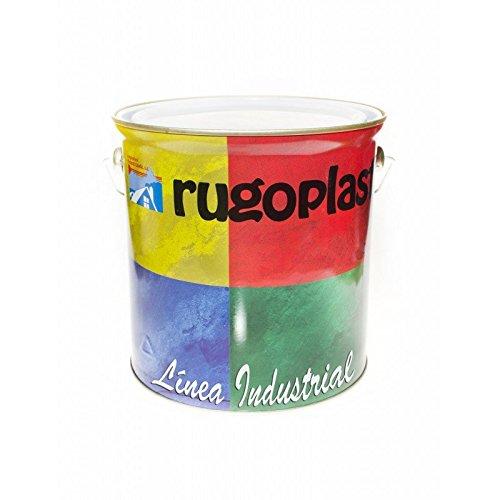 Pintura esmalte sintético industrial económico (hierro, madera etc.) Blanco/Negro/Verde Carruaje/Brillo/Satinado (4L, Blanco Satinado)...