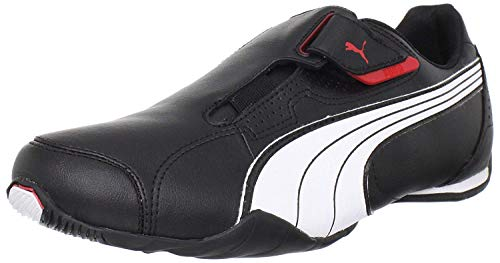 PUMA , Sneaker Uomo, (Schwarz (Black/White/Highriskred)), 41 EU