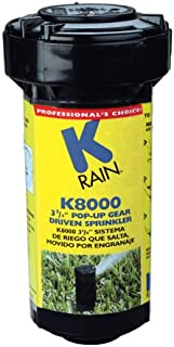 K Rain K8000 3-3/4-Inch Pop-Up Gear Drive Sprinkler 81031