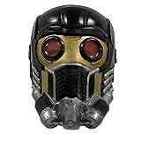 Lord Mask Guardians Star Cosplay Latex Masks Halloween Costume Black