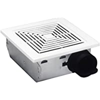 Broan-NuTone 50 CFM 4.0 Sones Ceiling and Wall Ventilation Fan (White Plastic Grille)