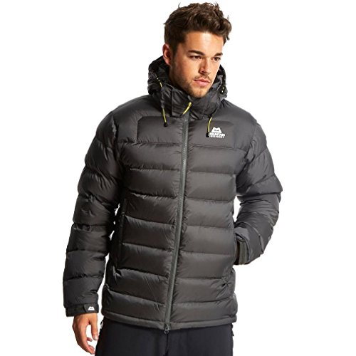 MOUNTAIN EQUIPMENT Menâ€s Lightline Down Jacket, Grey, XXL