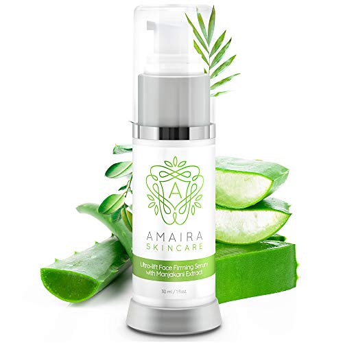 Amaira Face Firming Serum – Instant Facial, Neck, Chest and Skin Tightening and Lifting Crepey Skin – Anti Wrinkle and Aging, Day & Night Serum, Cream Alternative