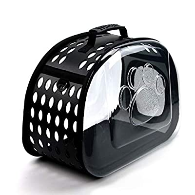 Yafeco Pet Carrier Package,Space Capsule Transparent Bags for Cats and Puppies,Designed for Travel, Hiking, Walking & Outdoor Use