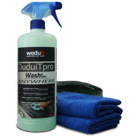 Lavado y encerado sin água DuduiTpro 1l + 2 Microfibra + Bolsa de nylon