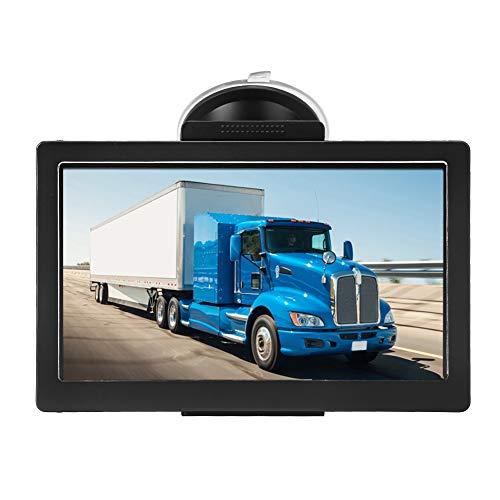 Demeras Navigatore GPS 7 Pollici Truck Car 8 GB Rom Dispositivo di Navigazione Bluetooth Mappa Gratuita 30 Lingue per Camion Navigatore satellitare Mappa Gratuita a Vita