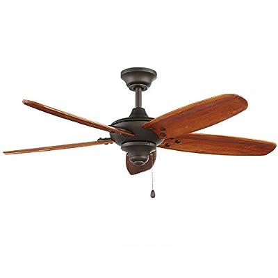 """Home Decorator 51748 48"""" Altura Indoor/Outdoor Oil-Rubbed Bronze Ceiling Fan"""