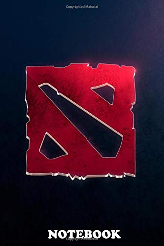 Notebook: Dota , Journal for Writing, College Ruled Size 6