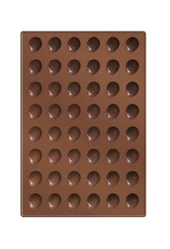 Tescoma 629353 Delicia Stampo per Dolcetti a Forma di Noci, Silicone, Marrone
