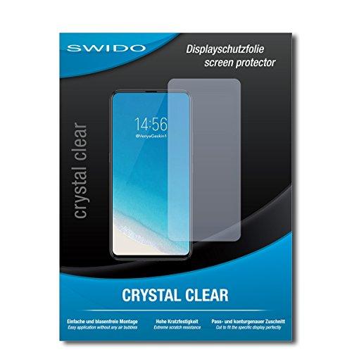 SWIDO Schutzfolie für Vivo NEX S [2 Stück] Kristall-Klar, Hoher Festigkeitgrad, Schutz vor Öl, Staub & Kratzer/Glasfolie, Bildschirmschutz, Bildschirmschutzfolie, Panzerglas-Folie