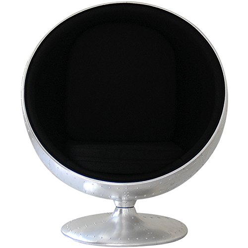 トレジャー『ボールチェアアルミ外装モデルエーロアールニオデザイン』
