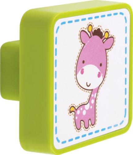 Dalber Bouton de Tiroir - Little Zoo - Petite Girafe
