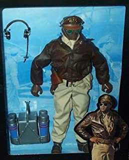 G.I. Joe - 1996 - Classic Collection - WW II Forces Collection - Tuskegee Bomber Pilot - 12 Inch Action Figure - w/ Accessories - RARE - Out of Production - Limited Edition - Collectible
