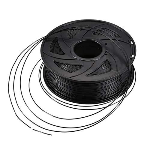 JIALUN ZFX-DAYIN, 1pc 3D-Drucker 1KG Drucken Filament 1.75mm PLA Schwarz, 1 Rolle (Color : Black)